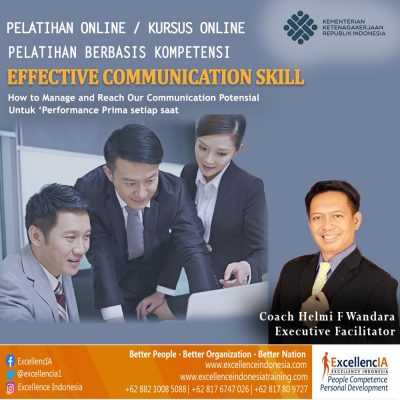 Effective Communication Skill (Terampil Komunikasi)